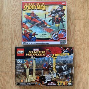 Boy's Spider-Man Marvel Mega Lego Blocks Sandman